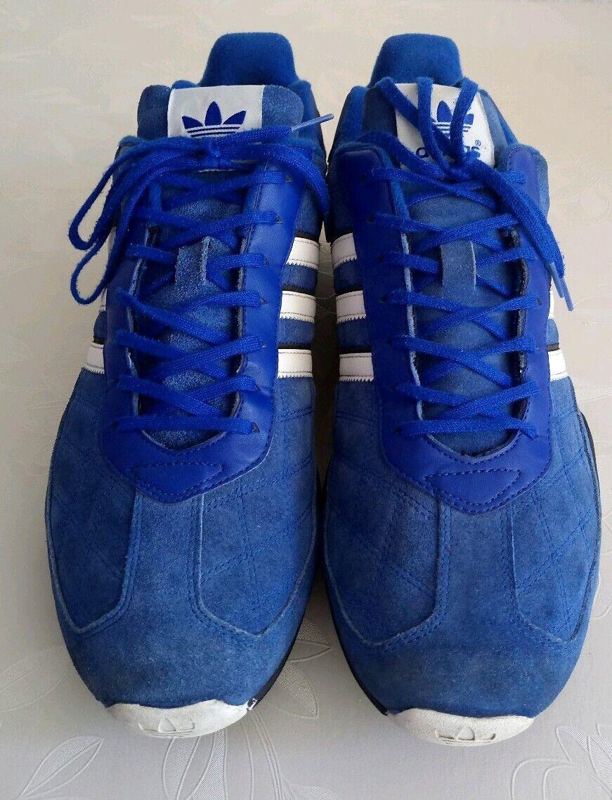 Original Team Adidas AdiGrip Trainers Gr. 46 seltene Farbe Herrenschuhe RAR