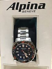 Alpina Extreme Diver AUTOMATIC Excellent On BRACELET! RARE AND LOWEST PRICE!!!!!