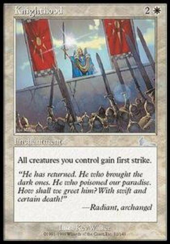 FR//vf 4x knighthood-knighthood mtg ulg * mrm