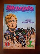 SKORPIO n°33 1978 Ed. Eura   [G602] - con Poster allegato