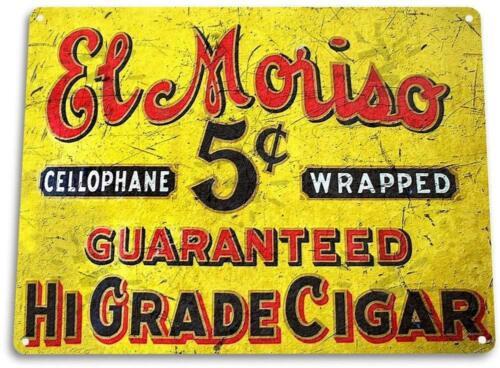"""""""El Moriso/"""" Cigar Metal Decor Wall Art Bar Shop Bar Cave"""