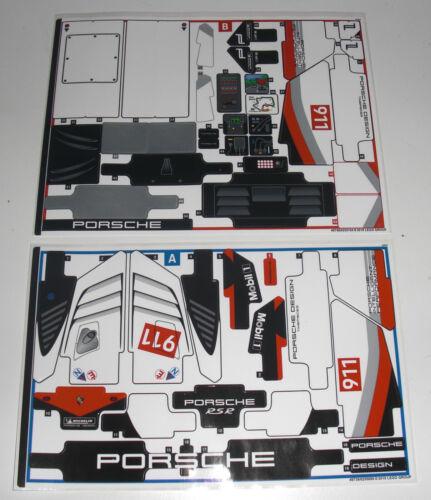 LEGO Technic 42096 Porsche 911 RSR Race Car Le Mans AUFKLEBER STICKER Decals