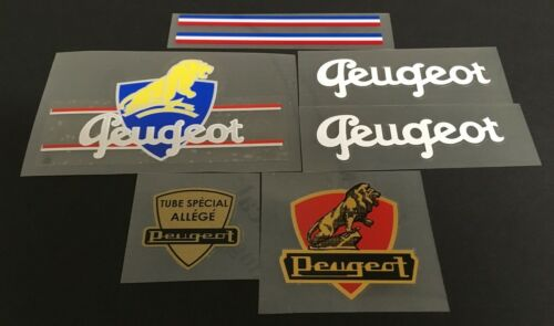 Early Peugeot Bicycle Decal Set Peug-S112