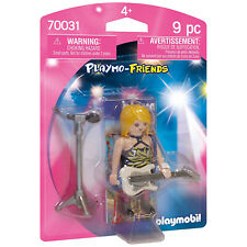 Playmobil 6821 Iron Knight playmo-friends brown hair shoulder sword-loops