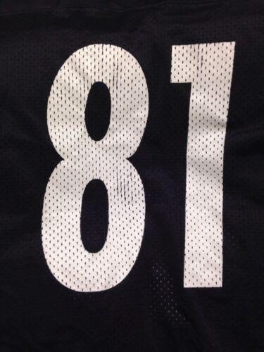 426dee738583 TROY EDWARDS PITTSBURGH STEELERS 81 NFL FOOTBALL JERSEY 2XL Size 54 Starter  85%OFF