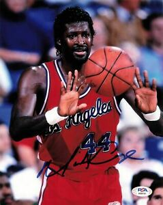 Michael Cage signed 8x10 photo PSA/DNA Los Angeles Clippers Autographed
