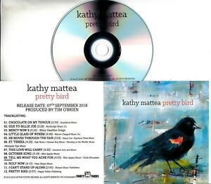 KATHY-MATTEA-Pretty-Bird-2018-UK-12-trk-promo-test-CD