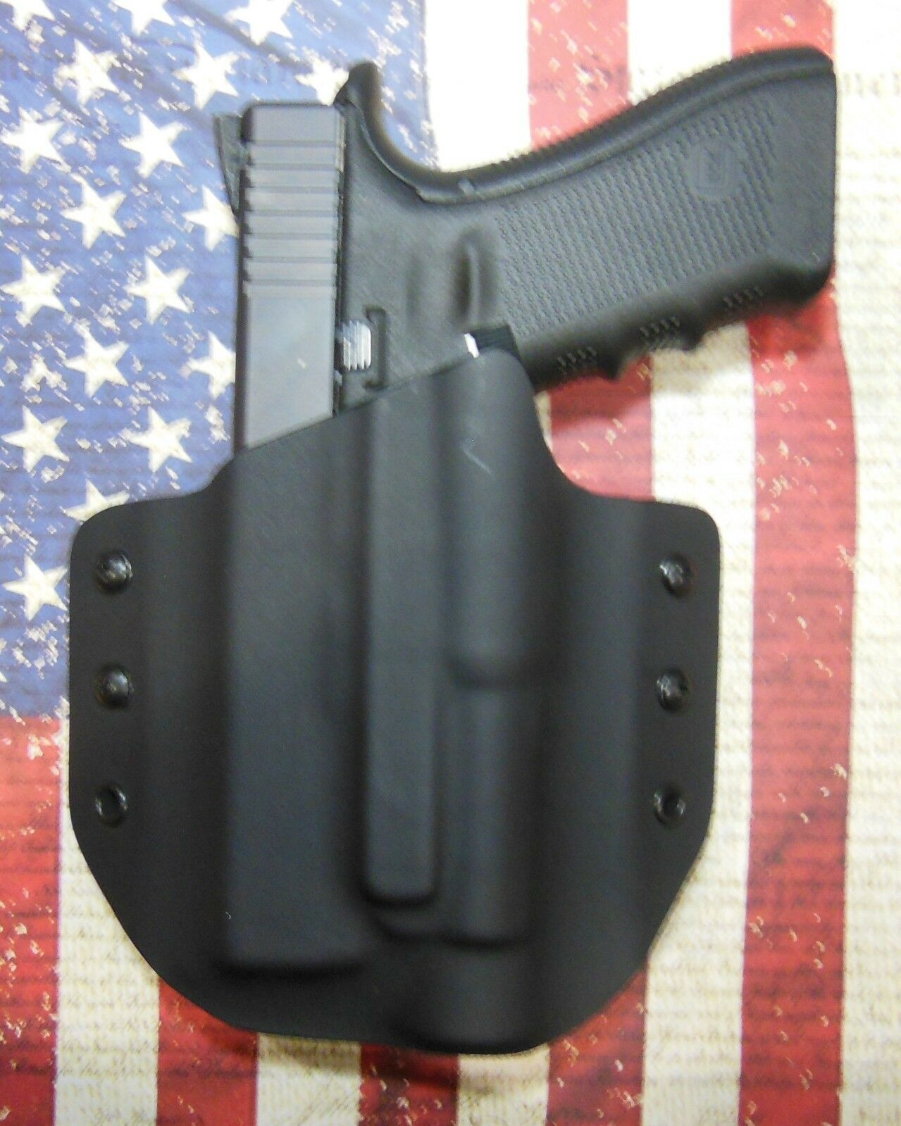 Sig Sauer P220 with TLR-1 (S, HL) Light Bearing Holster
