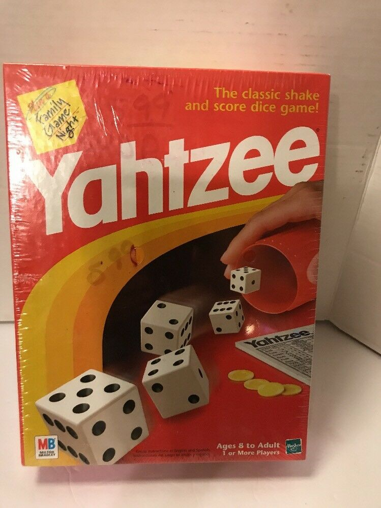 Yahtzee Game Game  Dice Game New Classic Dice Game Yahtzee 4cc8dd