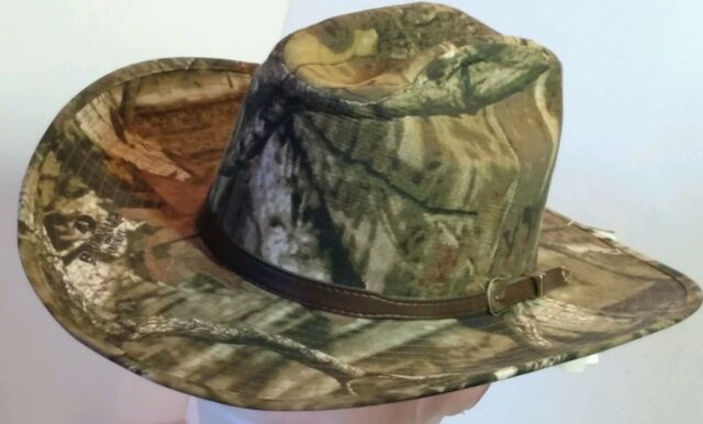 Mossy Oak Camo ~COWBOY HAT~ Western Camouflage-Hunting-