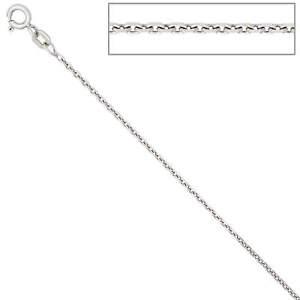 1-5mm-Ankerkette-Kette-Collier-Halskette-925-Silber-glaenzend-Damen-45cm