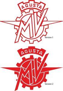 MV-AGUSTA-Logo-Sticker-Aufkleber-Set-2-Stueck-2-Varianten-Farbwahl