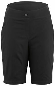 Louis Garneau Women/'s Radius Cyclying MTB Shorts Medium Black Retail $59.99