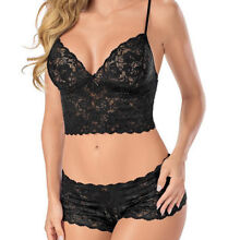 Lace lingerie set plus sizes