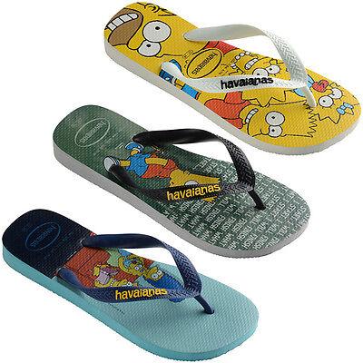 Havaianas Simpsons Zehentrenner Sandale Badelatschen 4137889 Homer Bart Marge