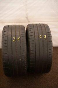 2x-Michelin-Pilot-Super-Sport-MO-265-40-r18-101y-Dot-3015-6-mm-pneus-d-039-ete