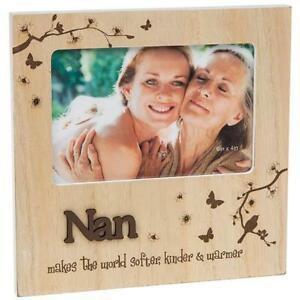 Nan Gift Natural Photo Frame With Sentiments 60611