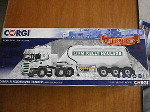 Corgi-Hauliers-of-Renown-Scania-R-Feldbender-Tanker-Liam-Kelly-Haulage-CC13767