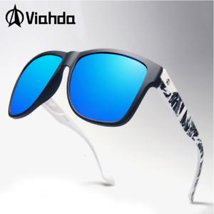 VIAHDA Men Polarized Sunglasses Outdoor Driving Fishing Riding UV400 Glasses Hot