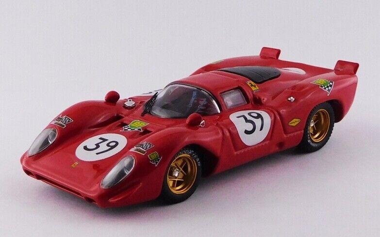 BEST MODEL Bes9438.2 - Ferrari 312 P -  39 24H du Mans - 1970 Adamowicz 1 43