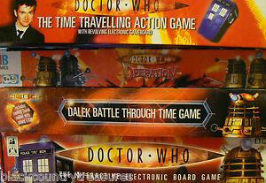 Dr-Doctor-Who-Board-Games-Daleks-BBC-TARDIS-Various-Titles-Multi-Listing