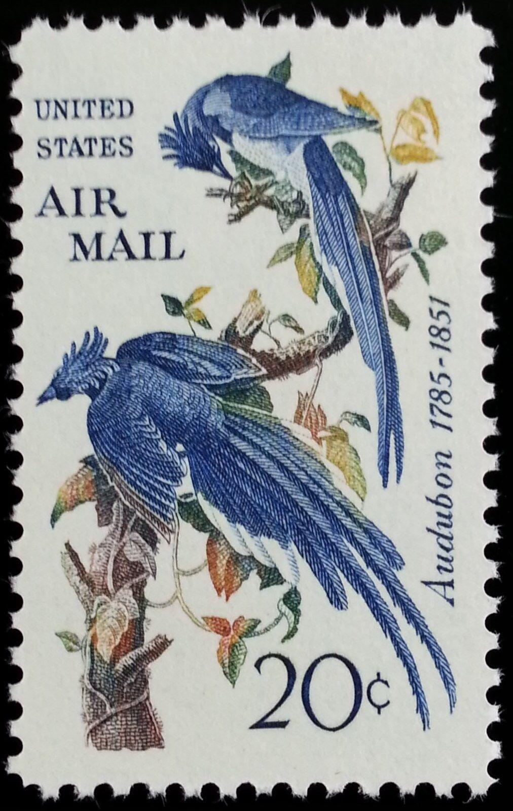 1967 20c Columbia Jays, Audubon Scott C71 Mint F/VF NH
