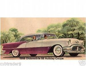 1956-Oldsmobile-Holiday-Coupe-Refrigerator-Magnet