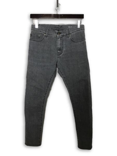 5845ae7eaab Saint Laurent 2016 D02 Washed Grey Denim Jeans Sz 27 for sale online   eBay