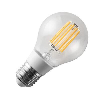 Lampadina filamento led goccia attacco grande e27 luce for Lampade a led casa