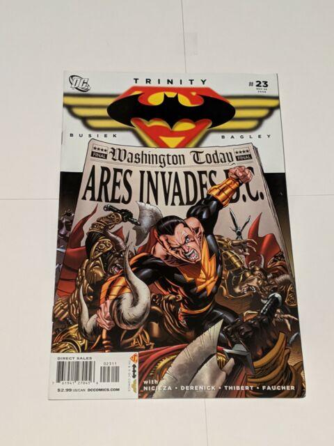 Trinity #23 November 2008 DC Comics Superman Batman Wonder Woman Busiek