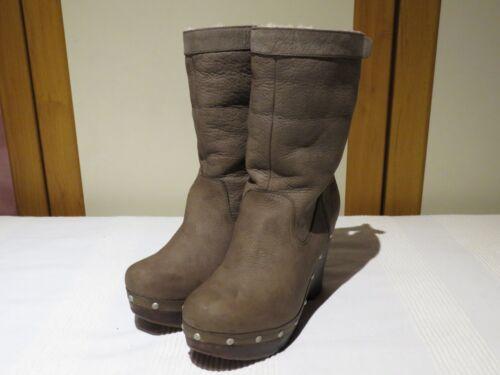 5 245 39 Usa Charcoal Rrp 8 6 Clog Carnagie £ Ugg® Boots Lær Australia Uk Eu xHS4fWqwFZ