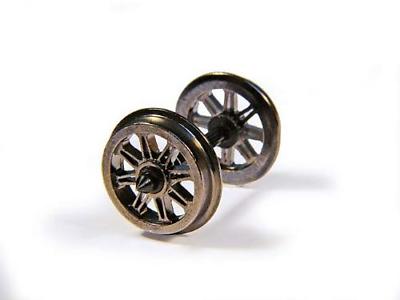 R8100 Hornby OO Gauge Split Spoked Wheels