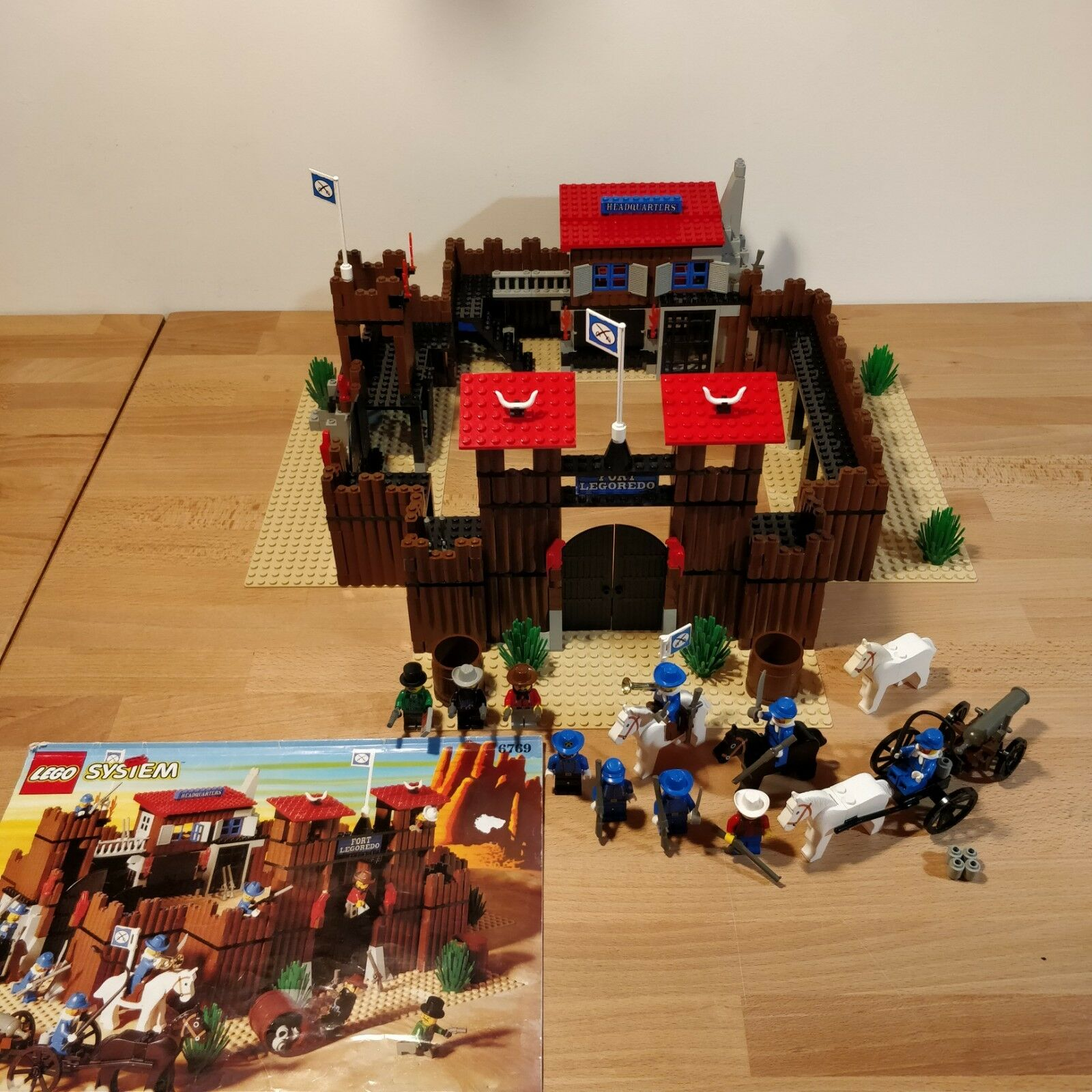 Lego Western 6769 Fort Legoredo 1996 Excellent Condition
