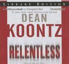 Relentless by Dean R Koontz (CD-Audio, 2015)