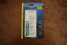 10 Oasis 167 mg de secours comprimés de purification d/'eau Water Rower 20-25 L chaque pilule