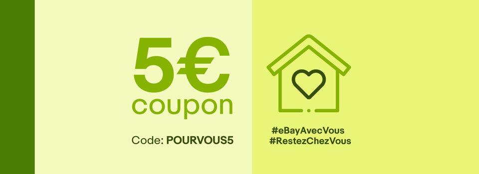 Livraison gratuite - Rester chez soi est plus facile avec eBay