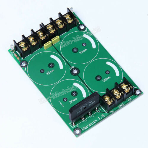 25A AC-DC Converter Audio Amplifier Rectifier Filter Power Supply Board Dia 35mm