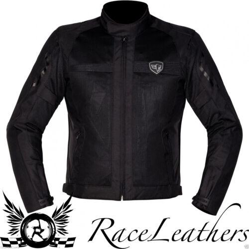 CHEAP AKITO RADIATOR BLACK SUMMER MESH LIGHTWEIGHT MOTORCYCLE MOTORBIKE JACKET