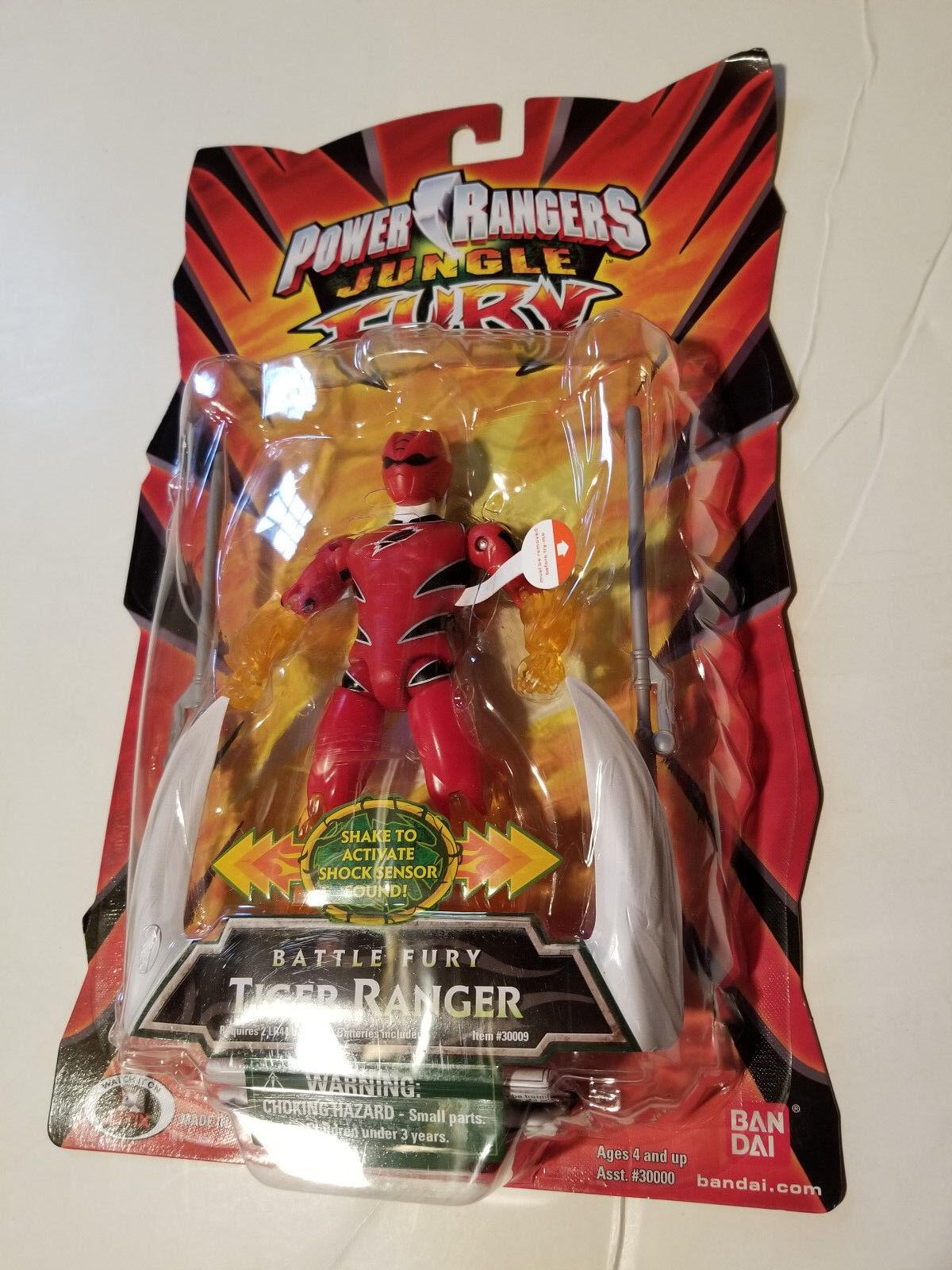 Power Rangers Jungle Fury ROT TIGER Figure Figure Gekiranger Sentai GOKAIGER