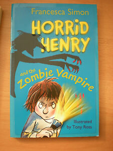 HORRID-HENRY-AND-THE-ZOMBIE-VAMPIRE-BY-FRANCESCA-SIMON-PAPERBACK-BOOK