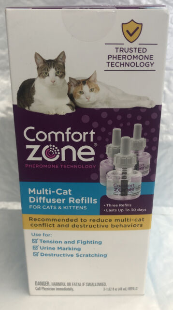 Comfort Zone Multicat Control Refill, Pack of 3 inside, New