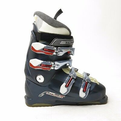 SALOMON PERFORMA 4.0 Mens 8 12 Ski Boots 26.5 Silver