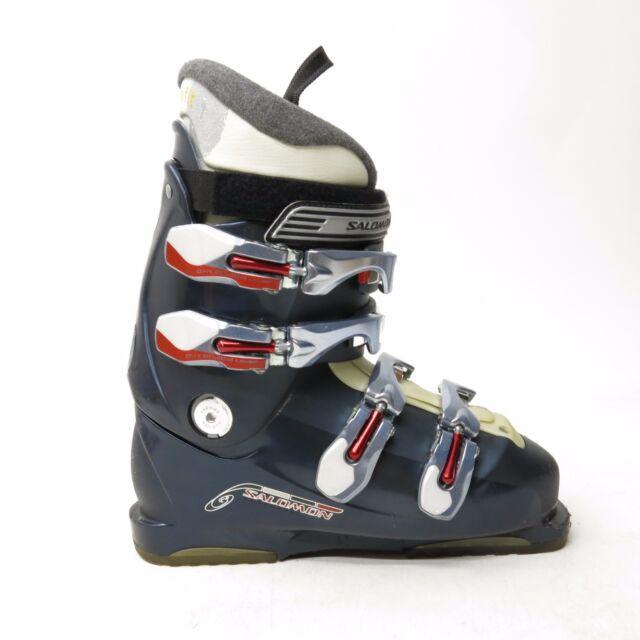 25.5 Salomon T3 ski boots.