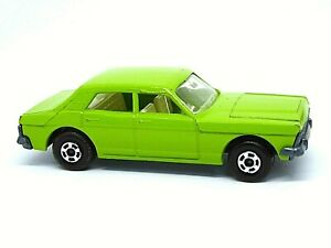 Matchbox-Lesney-Superfast-No-53c-Ford-Zodiac-Mk-IV-raro-Verde-Lima