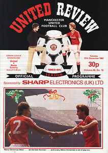 198384 Manchester United v Notts County Division 1 PERFECT CONDITION - Peterborough, Cambridgeshire, United Kingdom - 198384 Manchester United v Notts County Division 1 PERFECT CONDITION - Peterborough, Cambridgeshire, United Kingdom