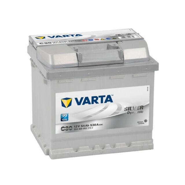 Batteria Varta Silver Dynamic C30 12v 54ah 530a 554 400 053