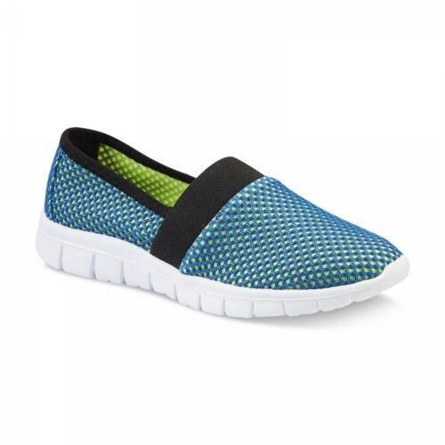 New Womens Athletech Calandra Slip On Sneaker Style 40696 Turquoise//Lime 107Q