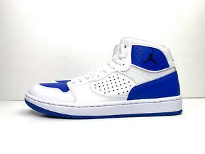 Nike-Jordan-Access-Herren-Turnschuhe-Weiss-Blau-UK-9-EUR-44-US-10-ar3762-104