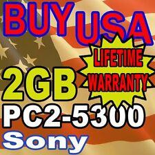2GB Sony VAIO VGN-CR190E/W VGN-CR220E/L MEMORY RAM