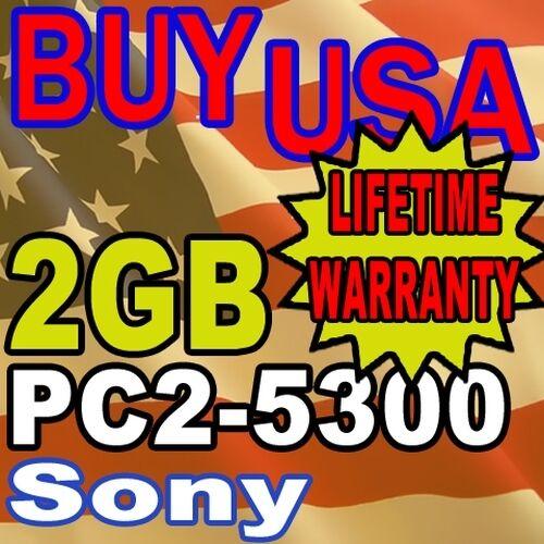 2GB Sony VAIO VGN-CR190E//W VGN-CR220E//L MEMORY RAM